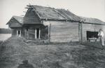 Kiekinniemen aittarakennus vuodelta 1667. Kuvannut Samuli Paulaharju.